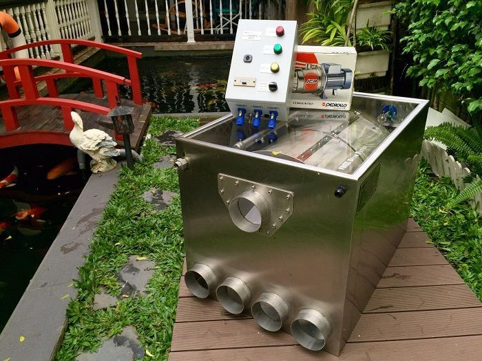 Phân loại máy bơm hồ cá Koi