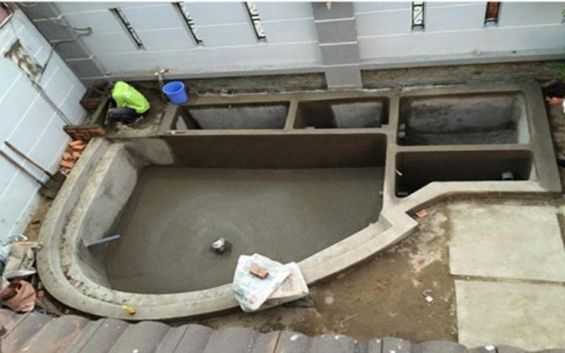 Chuẩn bị nguyên vật liệu xây dựng bể cá