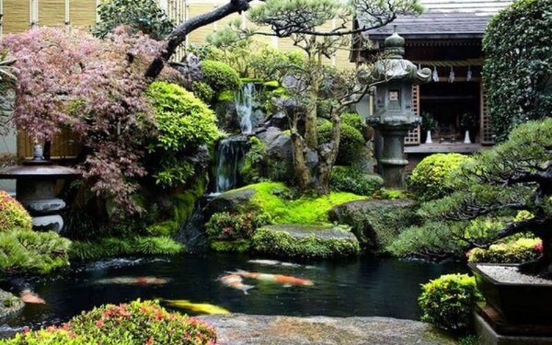 Tạo cảnh thiên nhiên cho sân vườn