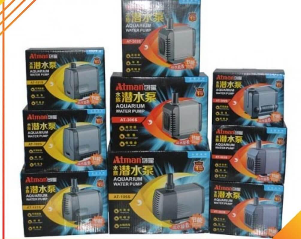 Các mẫu máy bơm của thương hiệu Atman trên thị trường hiện nay