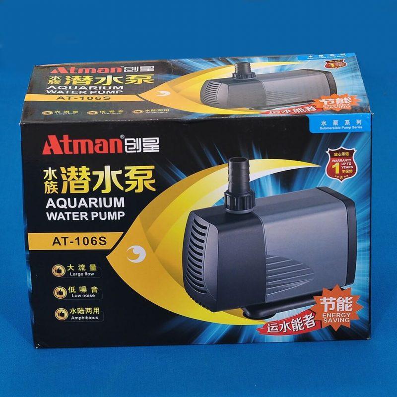 Cách bảo quản và vệ sinh máy bơm Atman 106s