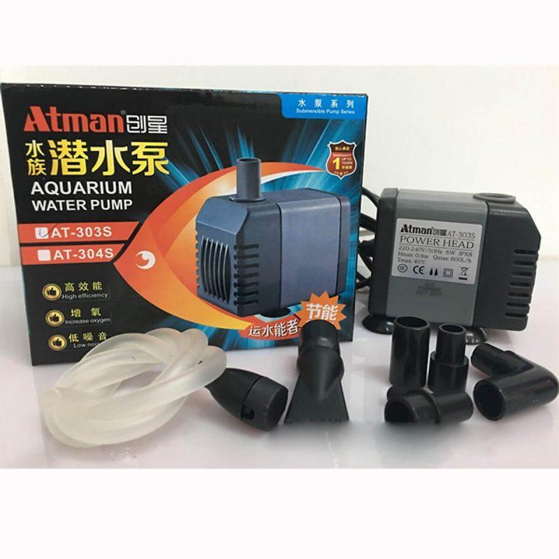 Cách bảo quản và vệ sinh máy bơm Atman 305s