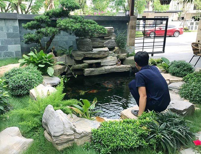 Cách làm hồ cá bằng xi măng đơn giản tại nhà