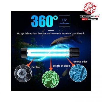 Đèn UV hồ cá Ford di