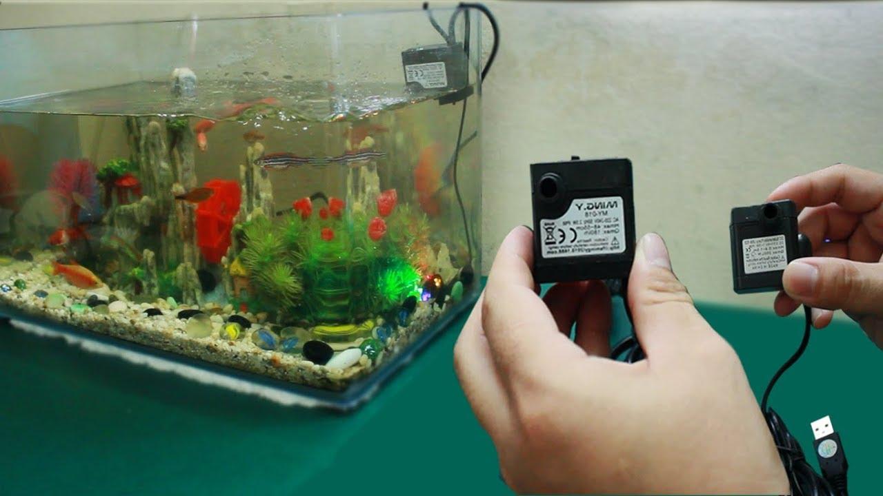 Máy lọc bể cá mini là gì