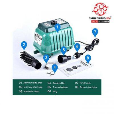 máy oxy hồ cá resun lp-60-6