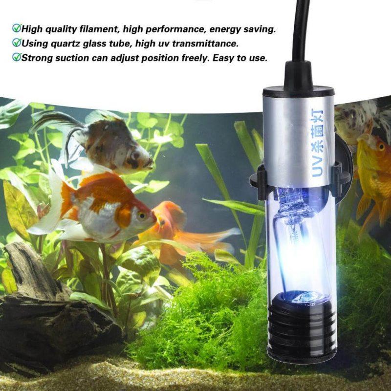 Những ưu điểm của đèn UV hồ cá