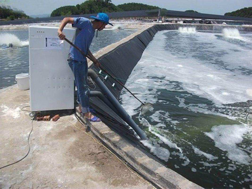 Tác dụng của máy bơm tạo oxy ao cá