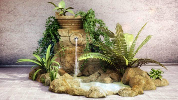 Tác dụng của thác nước phong thủy