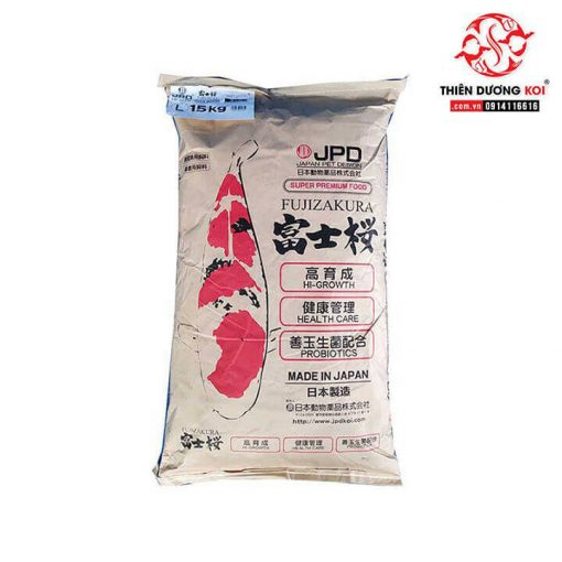 Thức Ăn Cá Koi JPD Fujizakura (15Kg)