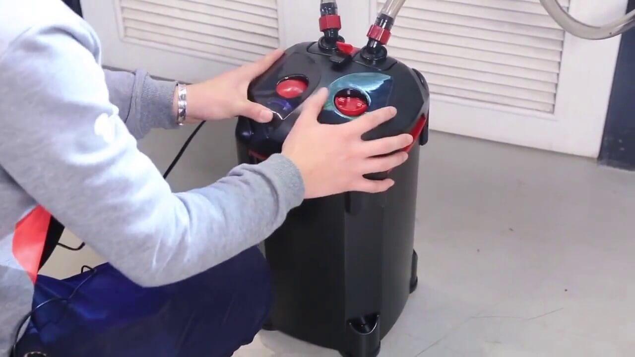Cách lựa chọn máy lọc thùng giá rẻ cho hồ cá