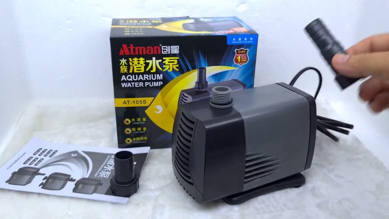Cách sử dụng máy bơm Atman 105s hiệu quả nhất