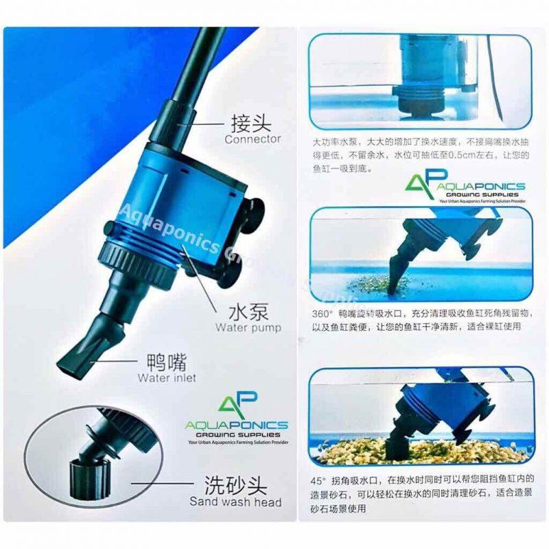 Cách vệ sinh và bảo quản máy bơm hút đáy bể cá Koi