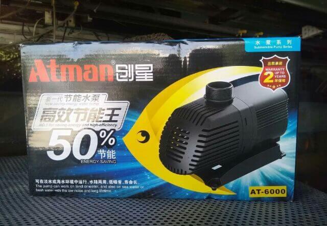 Đặc điểm của máy bơm Atman 6000.