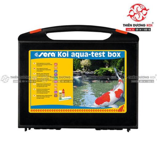 Bộ test 9 chỉ tiêu cá Koi Sera Test Box Koi