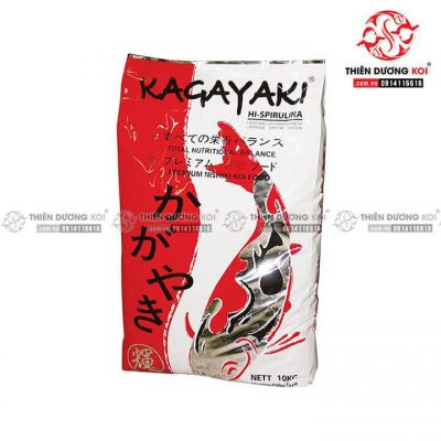 Thức Ăn Cá Koi Yi Hu Fish Farm Kagayaki Koi Food Spirulina