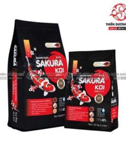 Thức ăn cá Koi Sakura Color Booster (Tăng màu nhanh 40%)