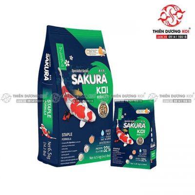 Thức ăn cá Koi Sakura Staple (Cân bằng 34%)